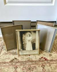 image 0 8x10 vintage frame white picture frames brass gold