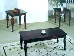 end tables oak coffee and end table sets set round tables ideas remarkable cherry furn