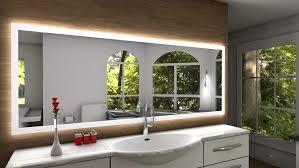 Badspiegel Designo Sete Mit A Led Beleuchtung B 100 Cm X H
