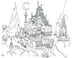 Scary Coloring Pages To Print Scary Color Pages Colouring Pages For