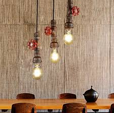 industrial pipe lighting. Interesting Pipe Loft Style Water Pipe Lamp Edison Pendant Light Fixtures Vintage Industrial  Lighting For Dining Room Hanging Droplight Lamparain Lights From  And
