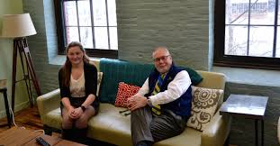 six steps to create a job shadow opportunity university of john evans and gretta groves on couch at vitl