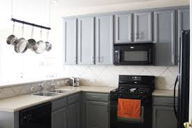 granite countertops beige ceramic flooring kitchen ideas black gray kitchen cabinets with black appliances