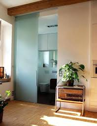 glass bathroom doors frosted sliding door uk