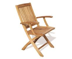 bali fold up garden chair with arms
