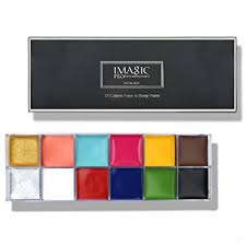 Buy <b>Imagic</b> Professional cosmetics Face <b>Body Paint</b> Case for ...