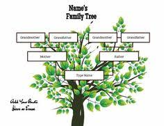 101 Family Tree Templates 101familytreete On Pinterest