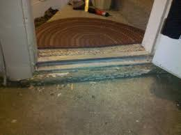 exterior door threshold install. wood under door sill is rotted - building \u0026 construction diy chatroom home improvement forum exterior threshold install