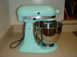 Kitchen Aid Ice Blue Kitchen Aid Mix Master