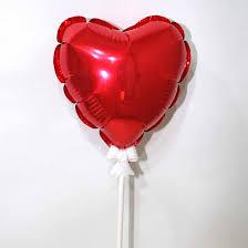 add on balloon 5 heart shape love