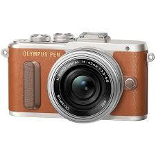 Купить <b>Фотоаппарат</b> системный <b>Olympus E</b>-<b>PL8</b> brown + 14-42 EZ ...