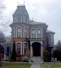 Leaded or stained glass is also common, especially as an oval focal point in the front door. Strachan House The Quintessential Victorian House Goderich Signal Star