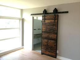 exterior barn door sliding barn doors mushroom wood and red grey hemlock siding sliding barn door