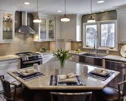 ... Large Size Of Kitchen:awesome L Shaped Kitchen With Island L Shaped  Bathroom Layout Contemporary ...