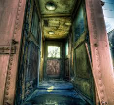 inside door of old train french lick in by lucas windsor