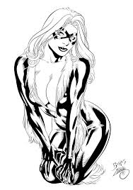Small Picture Spiderman Black Cat Coloring Pages Virtrencom