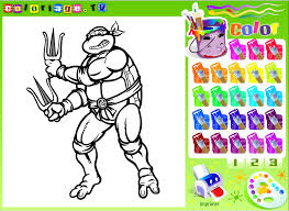 Small Picture Ninja Turtles Coloring Pages For Kids Mutant Ninja Turtles
