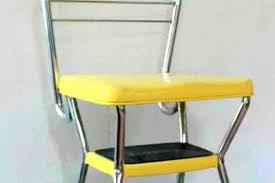 vintage cosco step stool chair step stool chair vintage step stool chair decor ideas kitchen retro