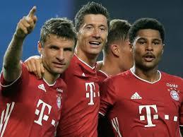 Sky sports news has been told lewandowski, who turns 33 on saturday, is. Champions League Serge Gnabry Robert Lewandowski Fire Ruthless Bayern Munich Into Final Football News