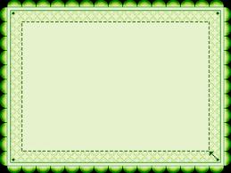 Green Patterned Frame Onlookin