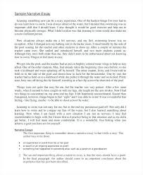 narrative essay dialogue example sample narrative essay  narrative