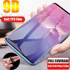 99D Front Back <b>Silicone Hydrogel TPU</b> Film For Samsung Galaxy ...