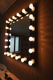 Large Light Mirror Forinventory Com Having Nice Mirrors With Light Bulbs In
