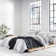 calvin klein modern cotton primal bedding grey at dotmaison com