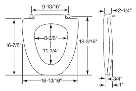 elongated toilet bowl dimensions. view detailed seat dimensions elongated toilet bowl