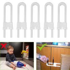 5 Pack Child Safety Sliding Cabinet Locks Eeekit Baby Safety