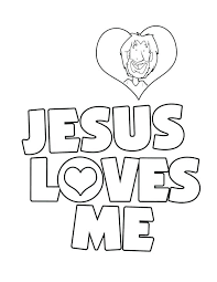 God Made Me Coloring Page God Loves Me Coloring Pages Free To
