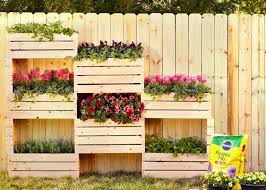 Free Standing Crate Planters