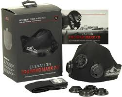 Details About Elevation Training Mask 2 0 Blackout Edition All Sizes Increase Lung Strength
