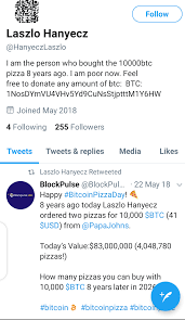 It has now been two years since i. Bitcoin Pizza Guy And The Tenth Anniversary Of The Most Regrettable Purchase In Human History Blockchain News