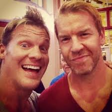 Christian re-surfaced on Chris Jericho's Twitter feed. Look who I found last night!!! @Christian4Peeps. Christian has been off WWE TV for several months ... - y2j-christian
