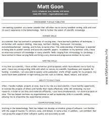 Examples Of Skills And Abilities On A Resume