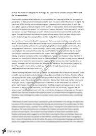 yeats essay year hsc english advanced thinkswap yeats essay