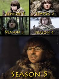 Bran Stark Through The Years by rob.lucci - Meme Center via Relatably.com