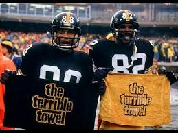 Lynn Swann, John Stallworth, Terrible Towel, Black Terrible Towel