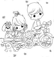 Small Picture Nativity Scene Precious Moments Free Coloring Pages Coloring Pages