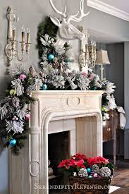 Amazing christmas fireplace mantel decoration ideas Greenery 01christmasmanteldecoratingideas Cheercrank Awesome Christmas Mantel Decoration Ideas