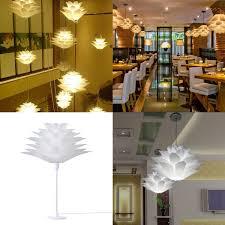 7 colors 40cm diy lotus chandelier shape ceiling pendant light lampshade home decor