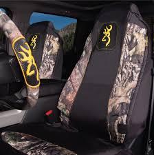 mossy oak bench seat cover custom