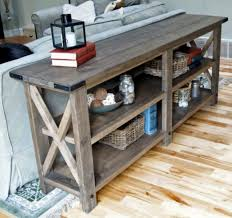 diy sofa table ana white. Rustic X Console Table DIY Project From Ana White Diy Sofa I