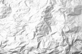 Grunge Crumpled Paper Overlay Background