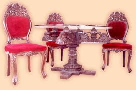 indian carved dining table. carved indian dining tables chairs table
