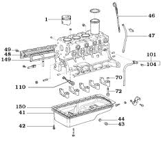 page 034 land cruiser diesel engine components