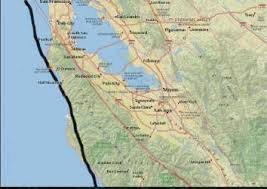 The map shows the major seismic faults in the san francisco bay area (colored lines) and the epicenters of the recorded earthquakes of magnitude 5 or greater that have occurred since 1900 (numbered dots). Which Fault Line Do I Live On A Guide To The Major Bay Area Faults