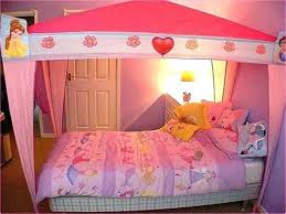 Girl Toddler Bed With Canopy — Bearpath Acres : Toddler Bed Canopy ...