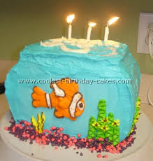 Coolest Aquarium And Fish Birthday Cake Ideas